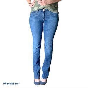 7FAM straight leg jeans